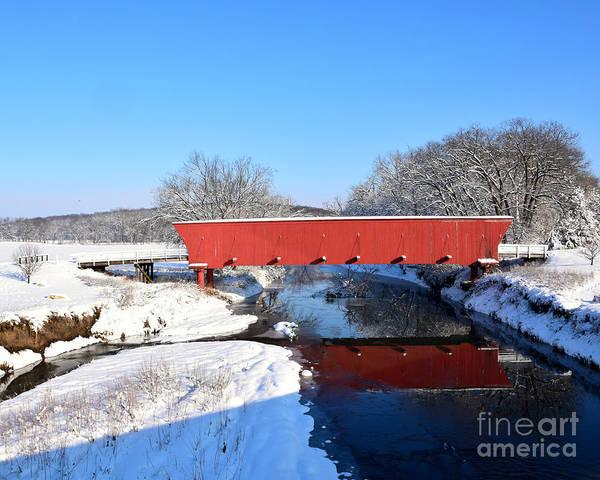Wall Art - Photograph - Hogback Covered Bridge II by Kathy M Krause