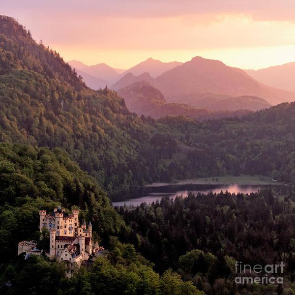 Wall Art - Photograph - Hohenschwangau Castle, Bavaria, Germany by Francesco Carucci