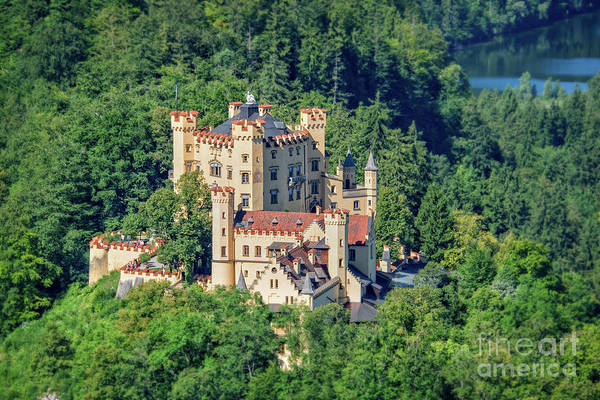 Wall Art - Photograph - Hohenschwangau Castle by Delphimages Photo Creations