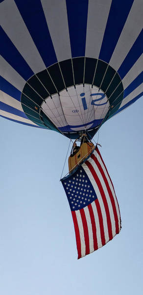 Photograph - Hoisting Our Flag by Laura Hedien