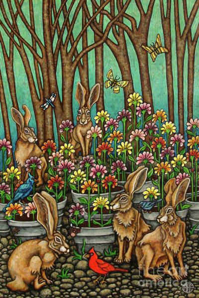 Painting - Holding Court by Amy E Fraser