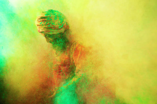Indian Culture Photograph - Holi, Festival Of Colors, India by Poras Chaudhary