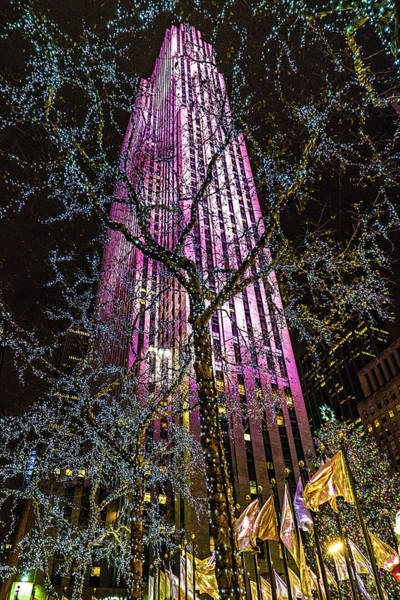 Photograph - Holiday At 30 Rock by Chris Lord