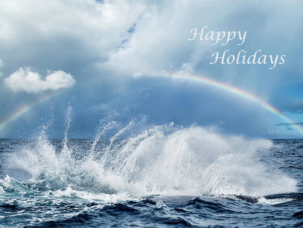 Photograph - Holiday Card Resounding Joy by Louise Lindsay