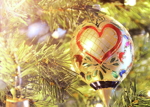 Photograph - Holiday Hearts by Jamart Photography