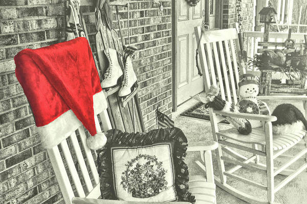 Photograph - Holiday Porch by JAMART Photography