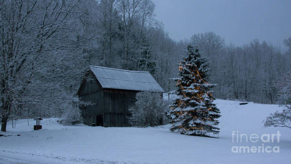 Photograph - Holiday Season In Vermont by New England Photography