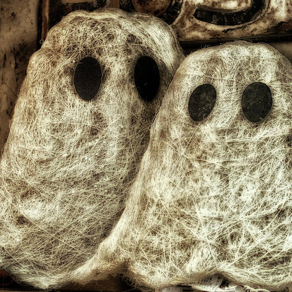 Wall Art - Photograph - Holiday Time Halloween Ghosts Sq Format by Thomas Woolworth