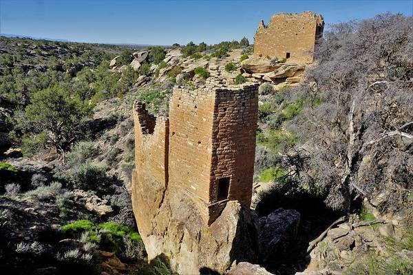 Photograph - Holly Tower At Hovenweep by Tranquil Light Photography