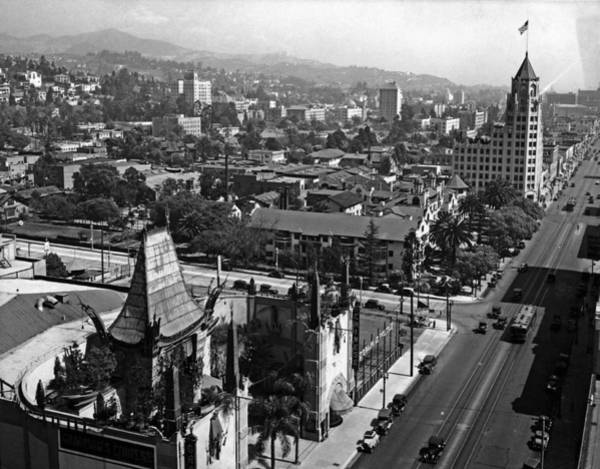 Hollywood Photograph - Hollywood Boulevard by Keystone