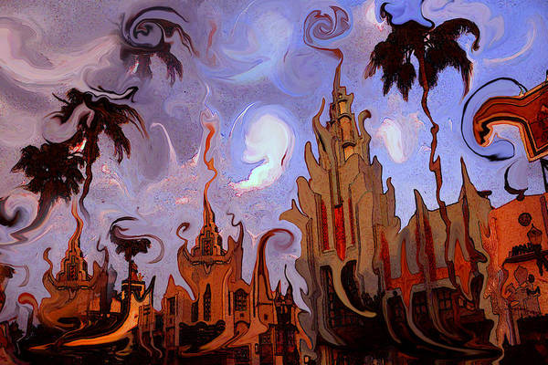 Painting - Hollywood Movie Studios - Modern Artwork by Peter Potter