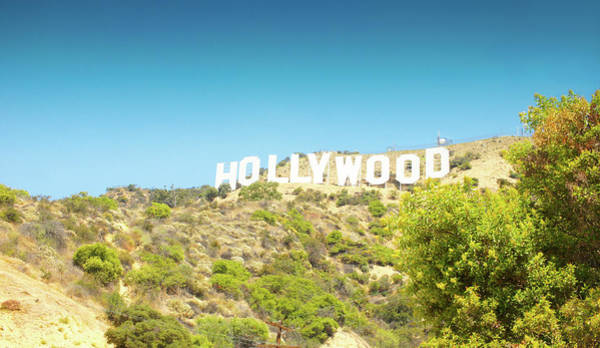 Wall Art - Photograph - Hollywood Sign  by Art Spectrum