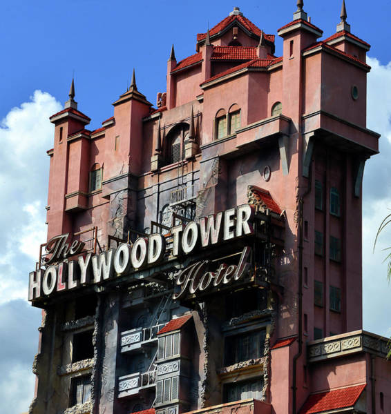 Wall Art - Photograph - Hollywood Tower Hotel Classic View by David Lee Thompson