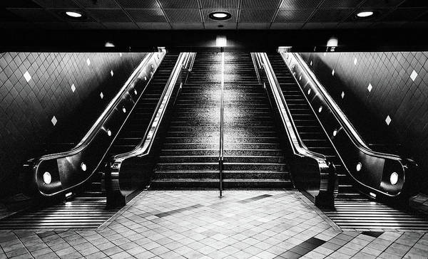 Photograph - Hollywood Underground Station, Usa by Maggie McCall