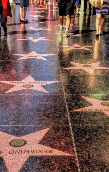 Painting - Hollywood Walk Of Fame by Christopher Arndt
