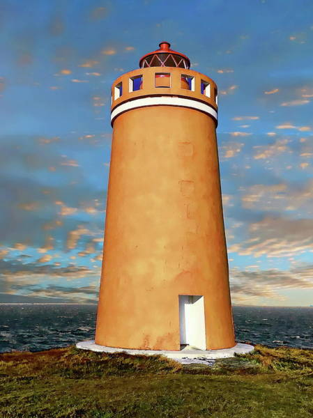 Photograph - Holmsberg Lighthouse by Anthony Dezenzio