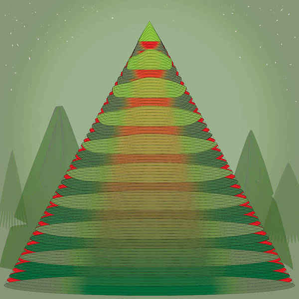Digital Art - Holotree by Kevin McLaughlin