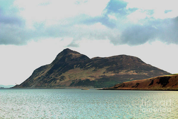 Wall Art - Photograph - Holy Isle, Off Lamlash Bay - Isle Of by David Falconer