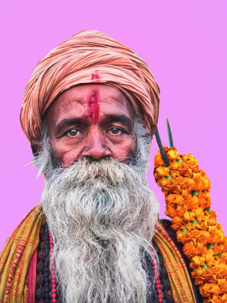 Photograph - Holy Man 9 by Dominic Piperata