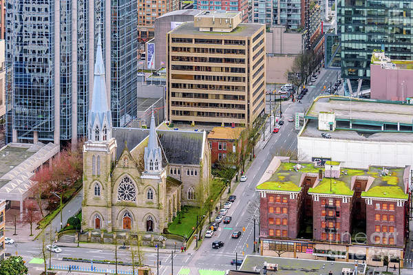 Wall Art - Photograph - Holy Rosary Cathedral From Above by Viktor Birkus