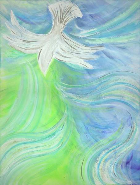 Painting - Holy Spirit Outpouring by Deborah Brown Maher