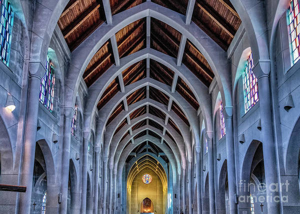 Conyers Photograph - Holy Spirit Trappist Abbey by John Greim