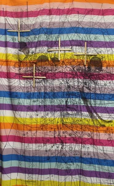 Painting - Holy Trinity And Bikira Maria Uganda  by Gloria Ssali