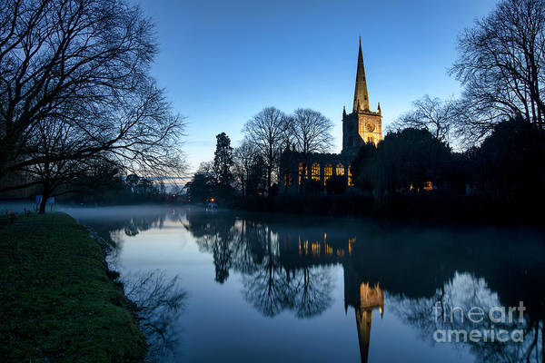 Wall Art - Photograph - Holy Trinity Church At Christmas  by Tim Gainey