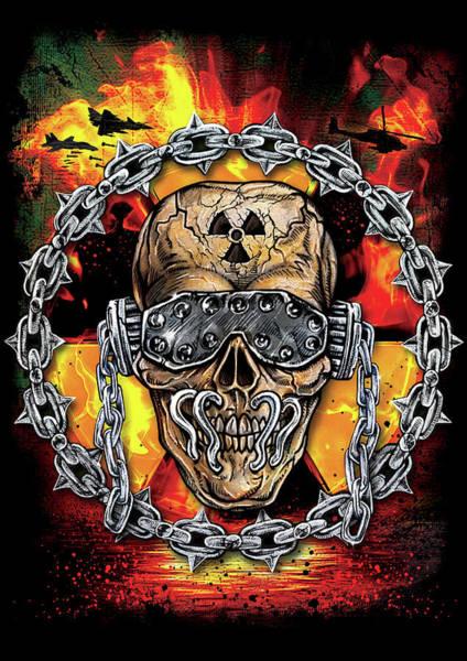 Megadeth Wall Art - Digital Art - Holy Wars by Mike Hrubovcak