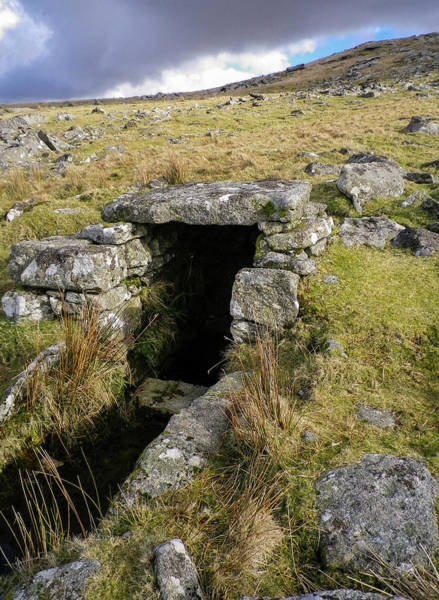 Wall Art - Photograph - Holy Well Showery Tor Bodmin Moor Cornwall by Richard Brookes