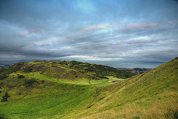 Holyrood Photograph - Holyrood Hill  by Teuni Teunissen