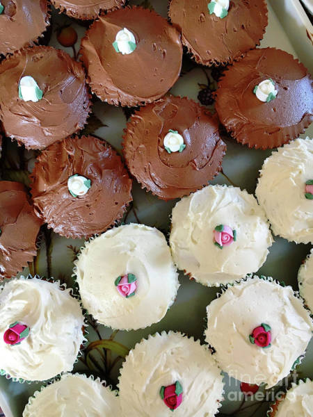 Wall Art - Photograph - Home Made Cupcakes by Tom Gowanlock