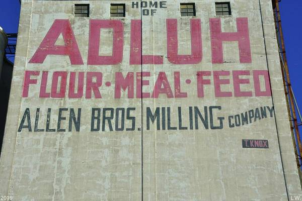 Photograph - Home Of Adluh Flour Meal Feed Mill Columbia Sc by Lisa Wooten