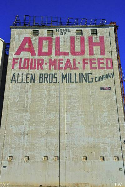 Photograph - Home Of Adluh Flour Meal Feed Mill Columbia South Carolina by Lisa Wooten