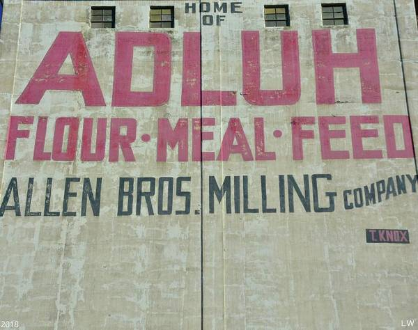 Photograph - Home Of Adluh Flour Meal Feed Mill by Lisa Wooten