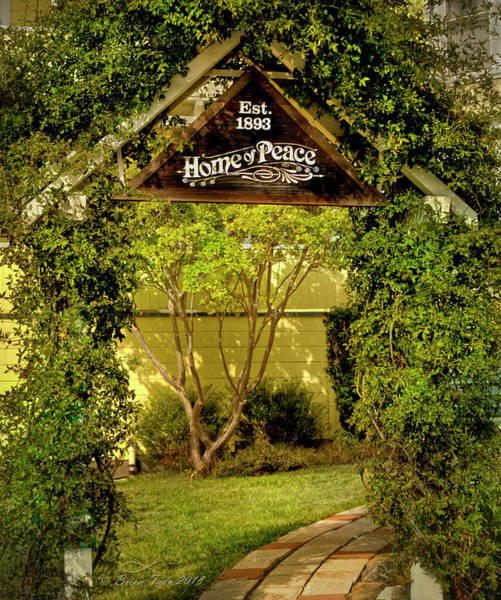 Photograph - Home Of Peace Arbor Entry, Oakland, California by Brian Tada