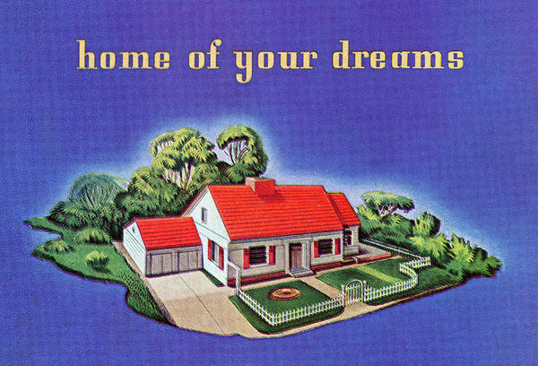 Archival Digital Art - Home Of Your Dreams by Graphicaartis