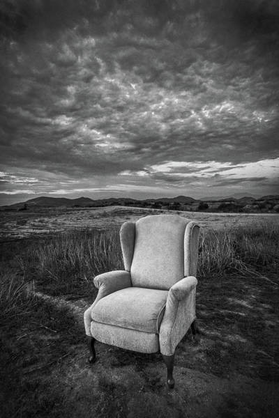 Queen Anne Style Photograph - Home On The Range - Black And White by Peter Tellone