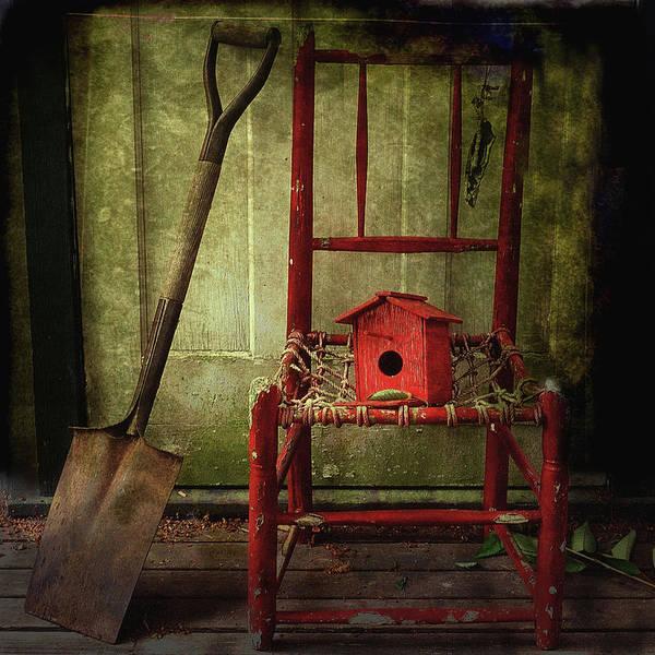 Shovel Photograph - Home Tweet Home by Alison Archinuk