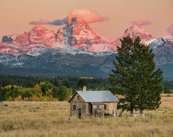 Magnificence Wall Art - Photograph - Home Under The Mountain by Leland D Howard