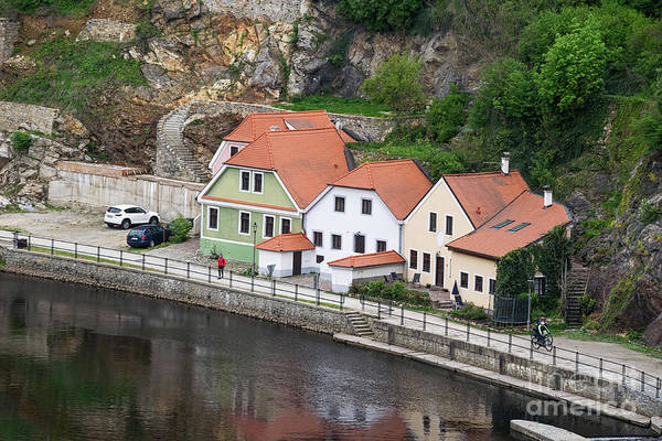 Photograph - Homes On Vltava River by Les Palenik