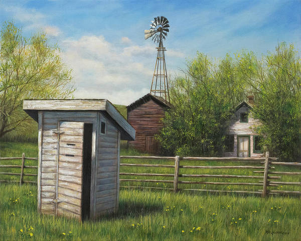 Painting - Homestead by Kim Lockman