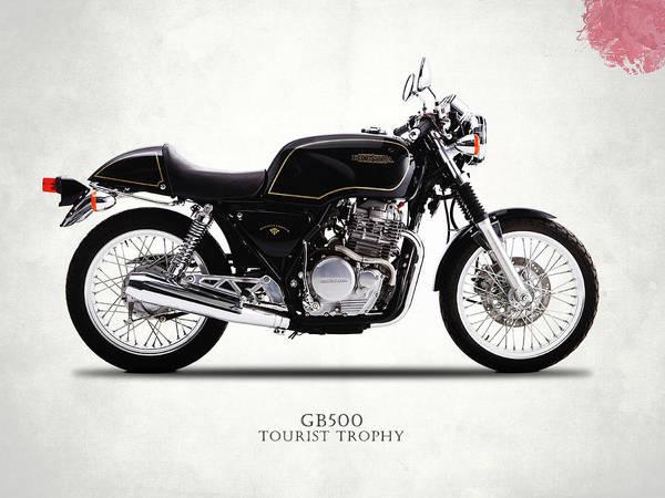 Wall Art - Photograph - Honda Gb500 Tourist Trophy by Mark Rogan