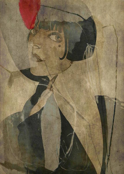 Girl Mixed Media - Honey Pie You Are Driving Me Crazy - Retro  by Paul Lovering
