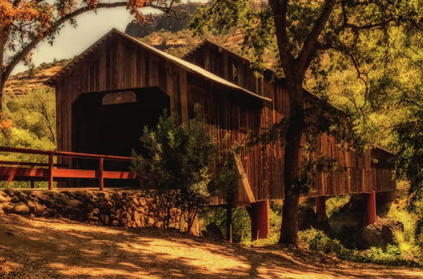 Wall Art - Photograph - Honey Run Covered Bridge by Marnie Patchett
