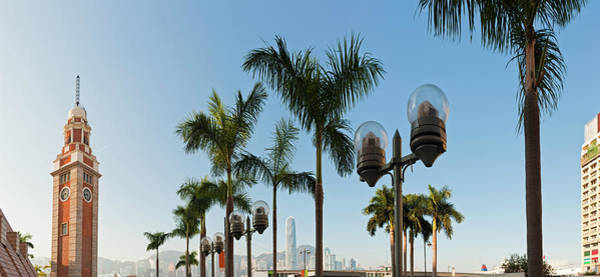 Victoria Tower Wall Art - Photograph - Hong Kong Clock Tower Ferry Terminal by Fotovoyager