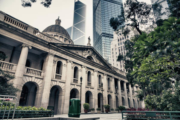 High Society Photograph - Hong Kong Legislative Council by Laoshi