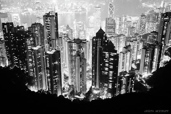 Wall Art - Photograph - Hong Kong Nightscape by Joseph Westrupp