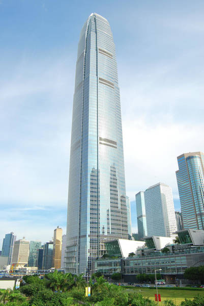 Financial Centre Photograph - Hong Kong Skyscraper International by Uschools