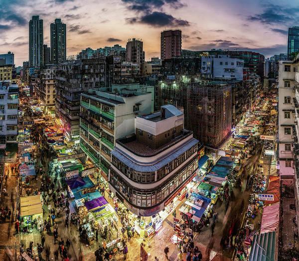 Wall Art - Photograph - Hong Kong Street Markets by Daniel Hagerman